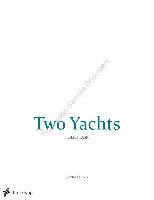 Two Yachts DI