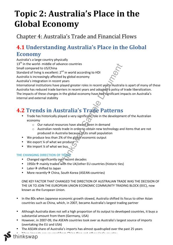australia: impact of trade blocks essay The australia - united states free trade agreement (ausfta) is a preferential trade agreement between australia and the united states modelled on the north american free trade agreement (nafta) the ausfta was signed on 18 may 2004 and came into effect on 1 january 2005.