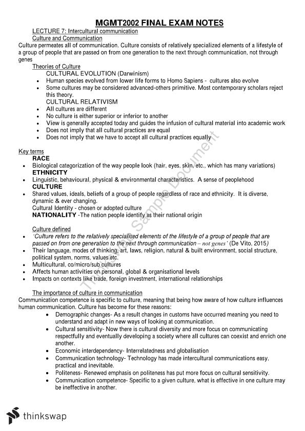 MGMT2002 Full Notes