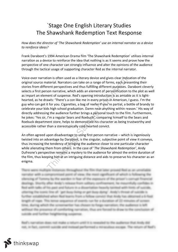 english 2 literary response