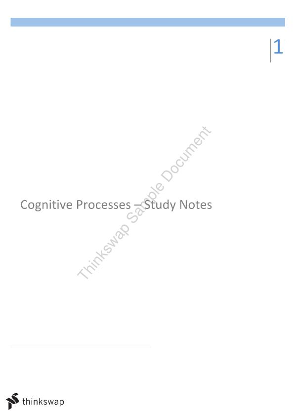 PSY236 Complete Study Notes