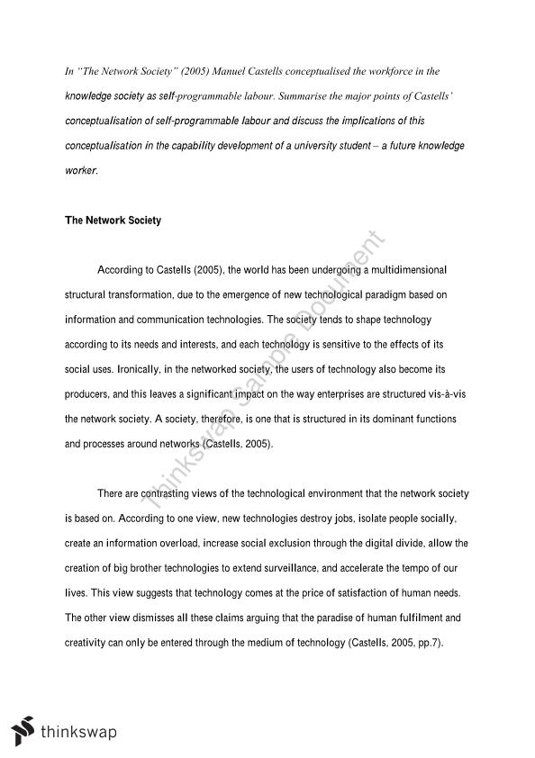 ICOM301 Essay for Prescribed Essay Question - Page 1