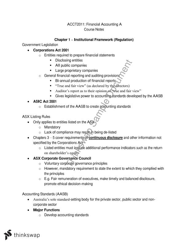 Complete Course Notes (HD Student)
