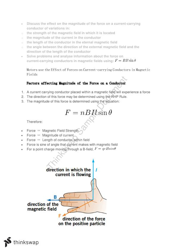 Motors and Generators Notes - Page 1