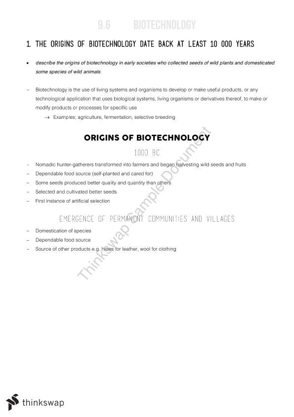 Biotechnology Notes - Option