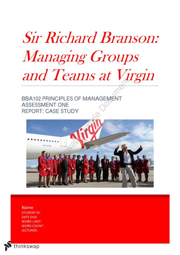 Managing Teams and Groups (Virgin)