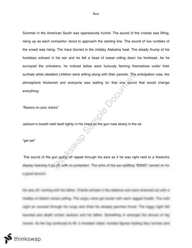 Creative Writing- Breaking Free  - Page 1