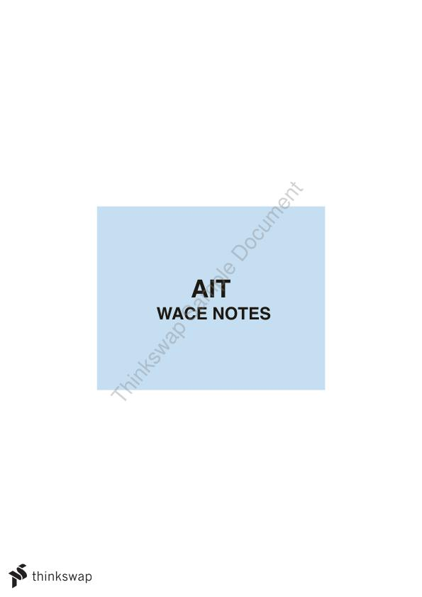 Year 12 Applied Information Technology (AIT) Notes