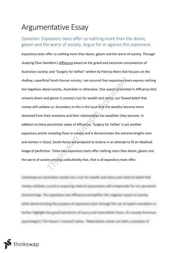 argue essay