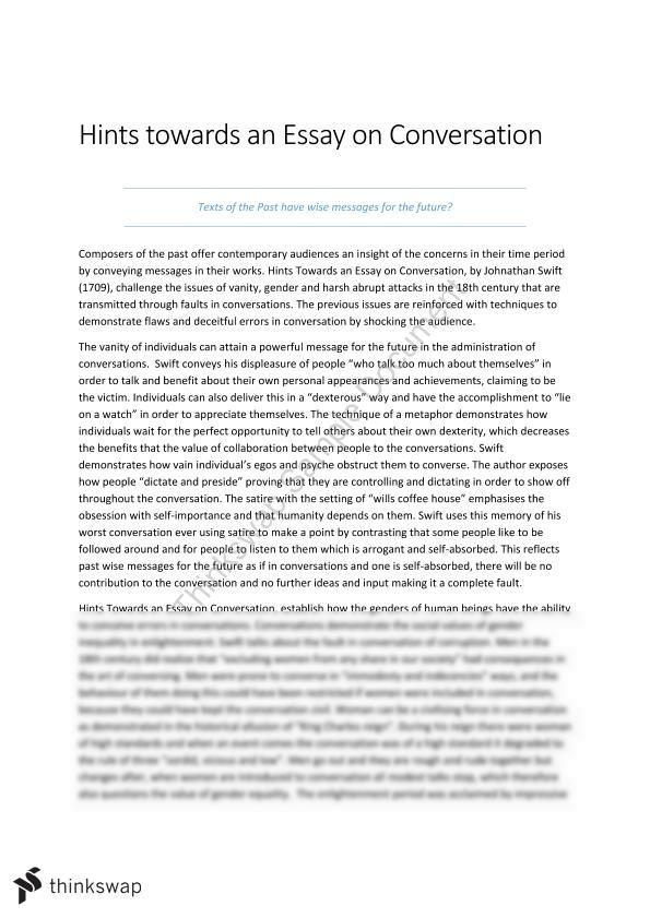 To help others essay