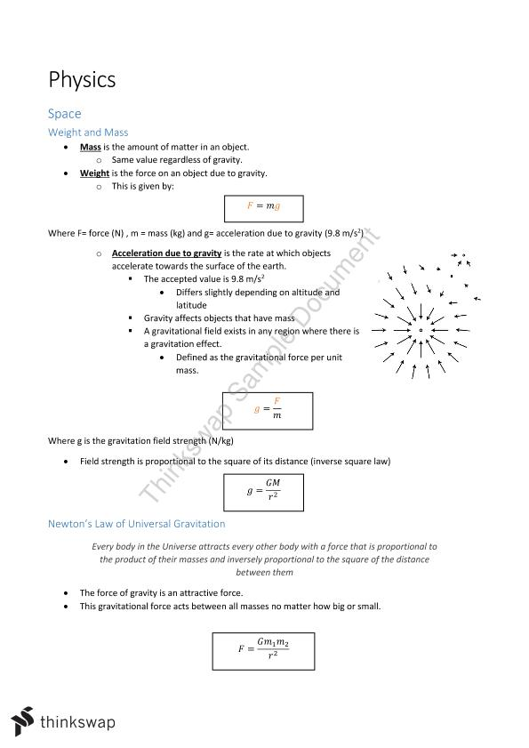Year 12 HSC Physics Notes + Option topic: From Quanta and