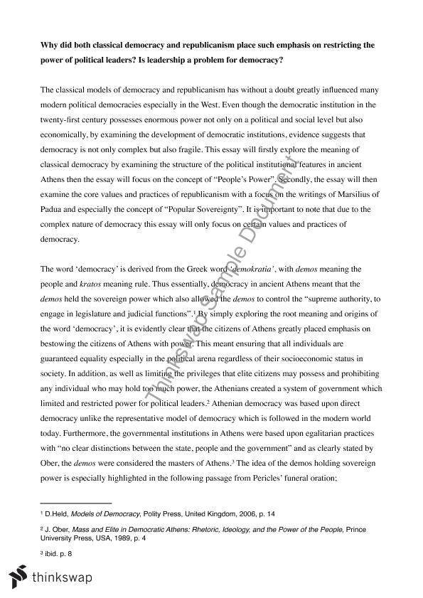 essay on democracy in theory and practice Editorial essay the importance of philosophy for education dimension of educational theory, policy, and practice democracy and the study and practice of.