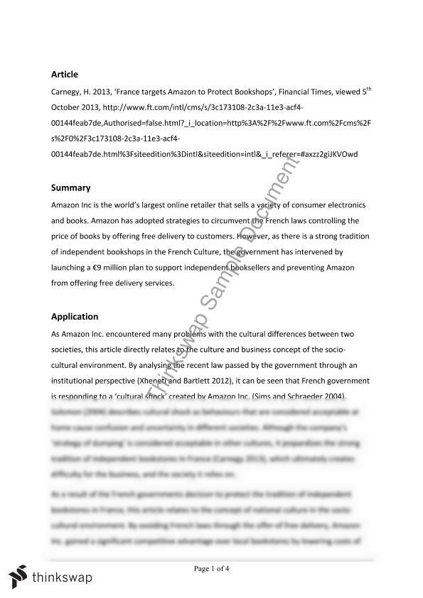 Msa essay