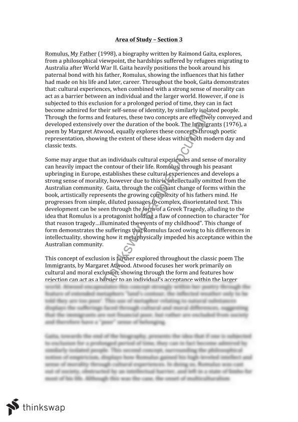 Essay of my father in english