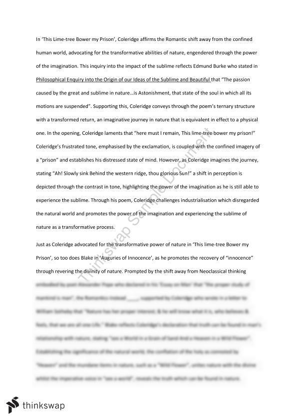power imagination essay