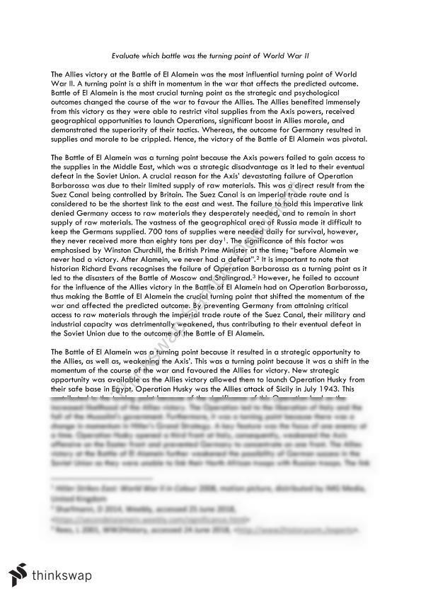 battle of stalingrad summary