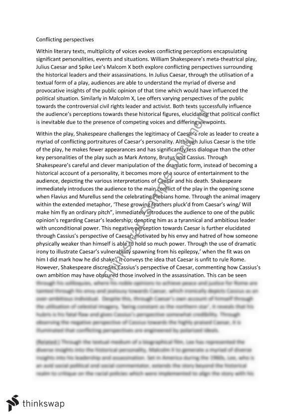 julius caesar essay