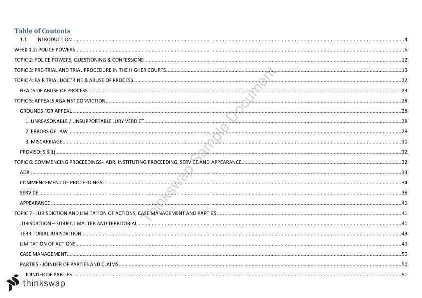 Civ Pro Rules Flow Chart - LAW6327 Civil Procedure - StuDocu