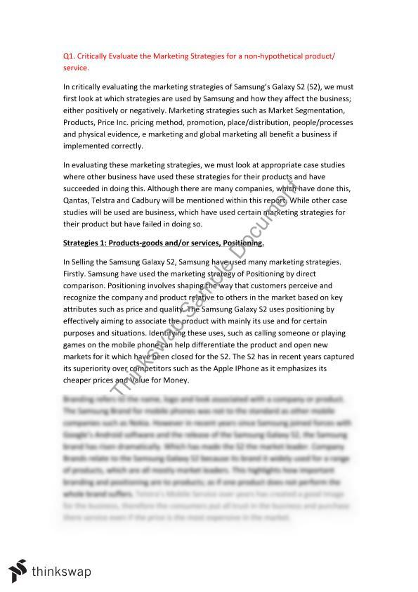 marketing strategies essay year hsc business studies marketing strategies essay