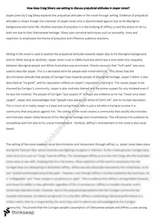 Jasper Jones Analytical Essay