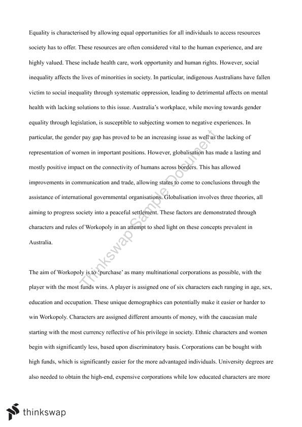 College essays about business