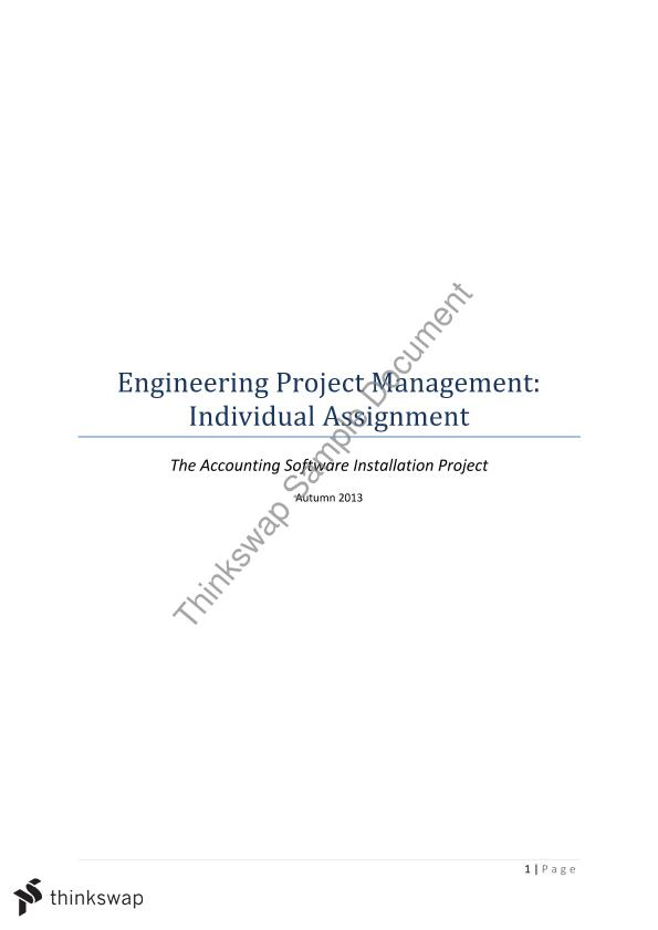 engineering management i assignment ii Due to inadequate writing skills and scarcity of time, students seek professional engineering assignment help to remove all the problems related to their assignment engineering is a vast subject, and several branches come under it.