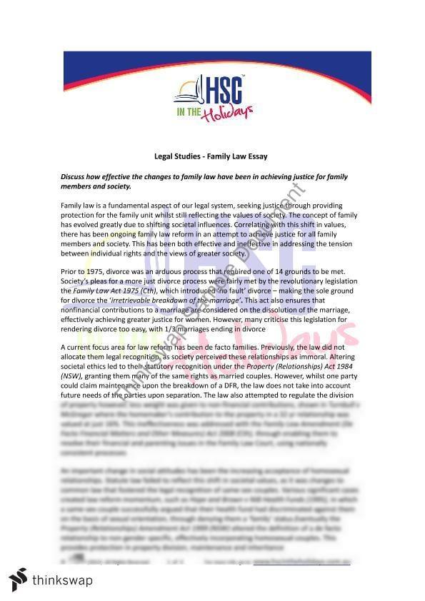 Buy family law essay