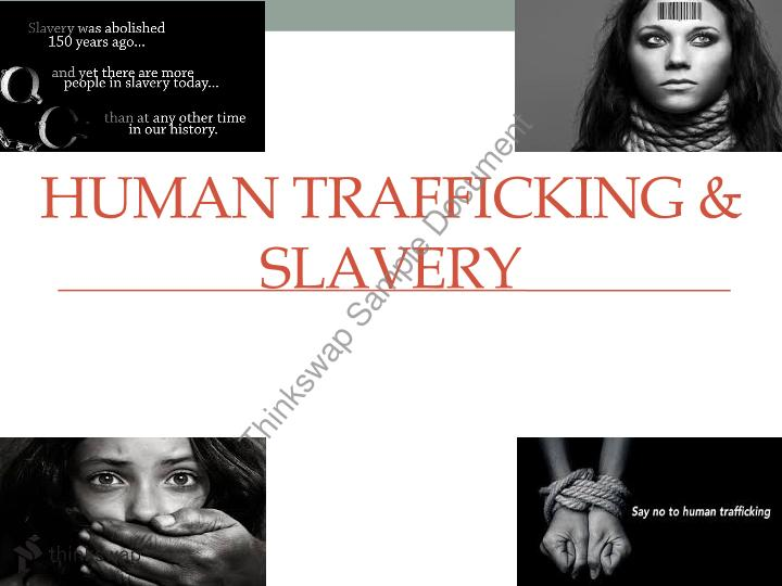 how human trafficking has impacted oklahoma essay How has modern technology influence influenced human trafficking and human smuggling there is often confusion between the terms human trafficking and human smuggling as they both involve the transportation of people from one place to another.