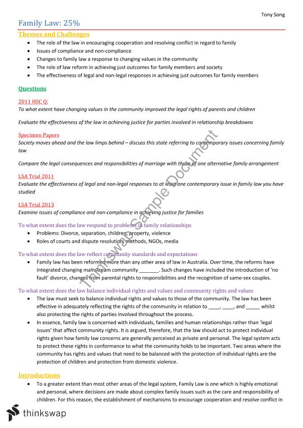 family study notes Study guide 2014 university of zululand  study guide: this is the key  please furthermore note that should you qualify for re-assessments,.