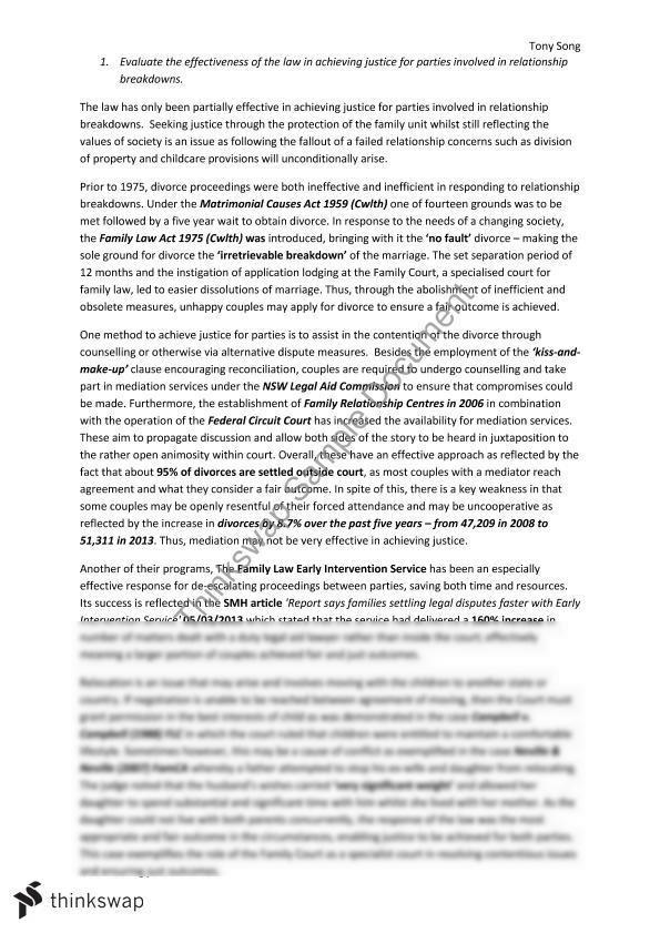 Family relationship essay injustice anywhere is a threat to justice everywhere essay