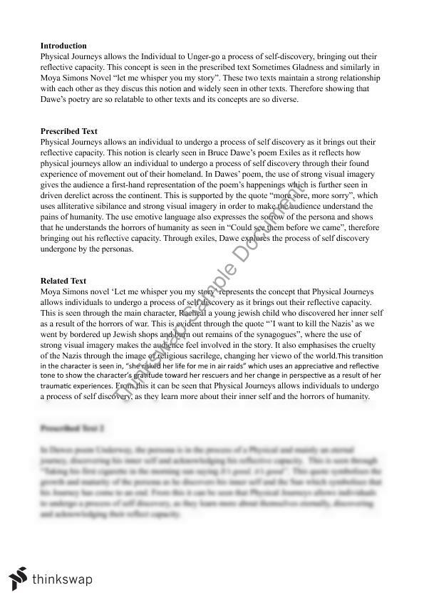 Change in perspective essay