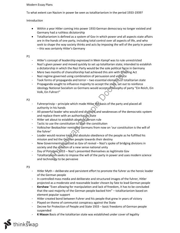 hsc essay plans for questions on the national study of  hsc essay plans for questions on the national study of 1919 1939 no
