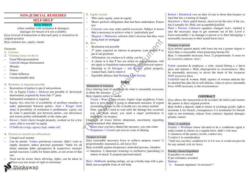 exam template
