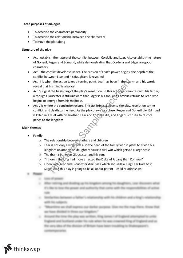 Research Essay Proposal William Shakespeare Essay Topics King Lear Dysfunctional Family Essay  Coursework Service  How To Write A High School Application Essay also How To Write A Business Essay William Shakespeare Essay Topics  Tirevifontanacountryinncom High School Admission Essay Examples