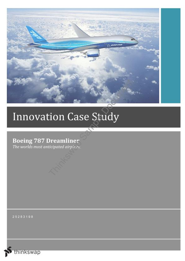 boeing software procurement case study questions Deal-making negotiations by governments and major product suppliers: a case study of the us department of defense and airbus versus boeing field guide to case study research in business-to-business marketing and purchasing (advances in business marketing and purchasing, volume 21) emerald group publishing limited, 21, pp1-11.