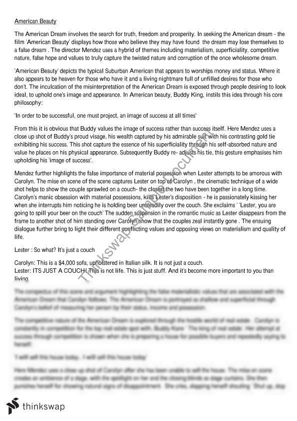 Write my american dream definition essay