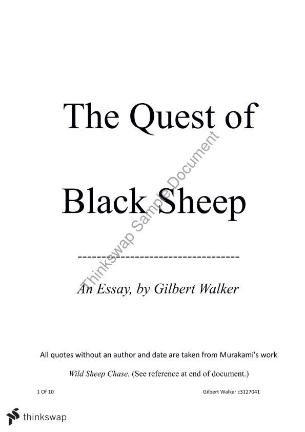 killer of sheep essay