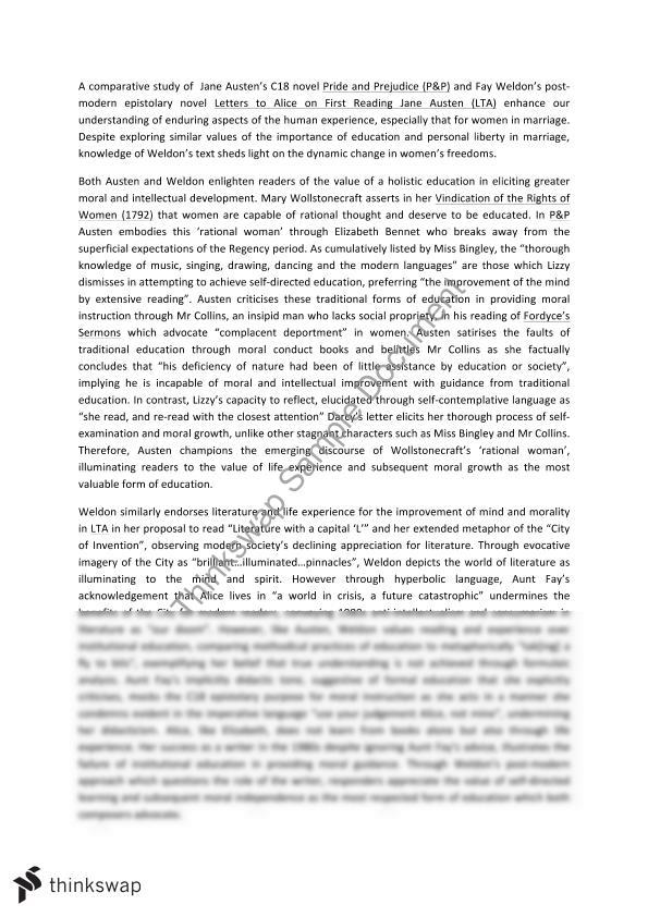 pride and prejudice module a essay in hsc year hsc pride and prejudice module a essay 15 15 in hsc