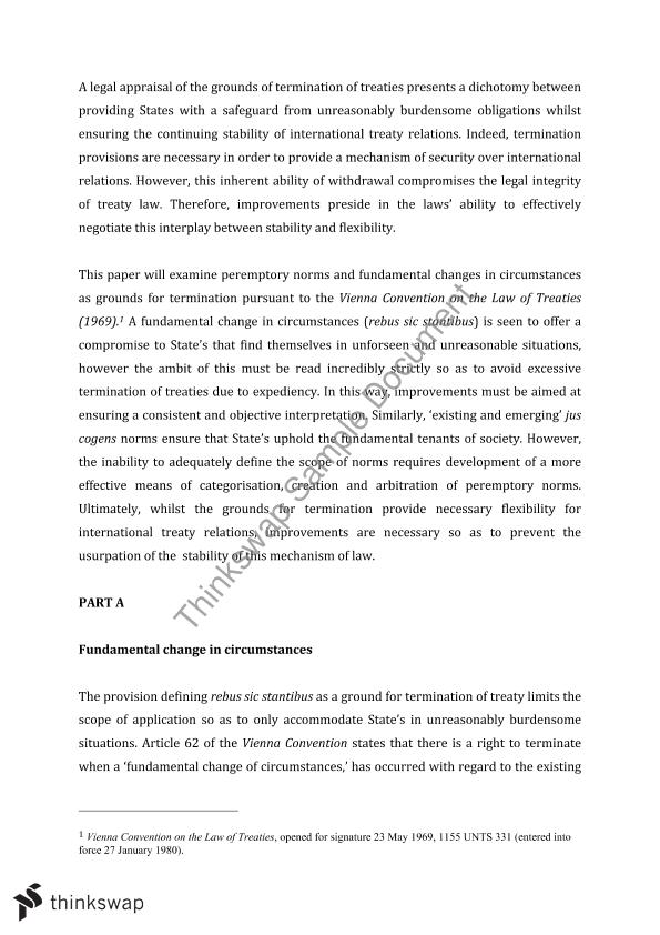 international law essay treaties laws international law  international law essay treaties