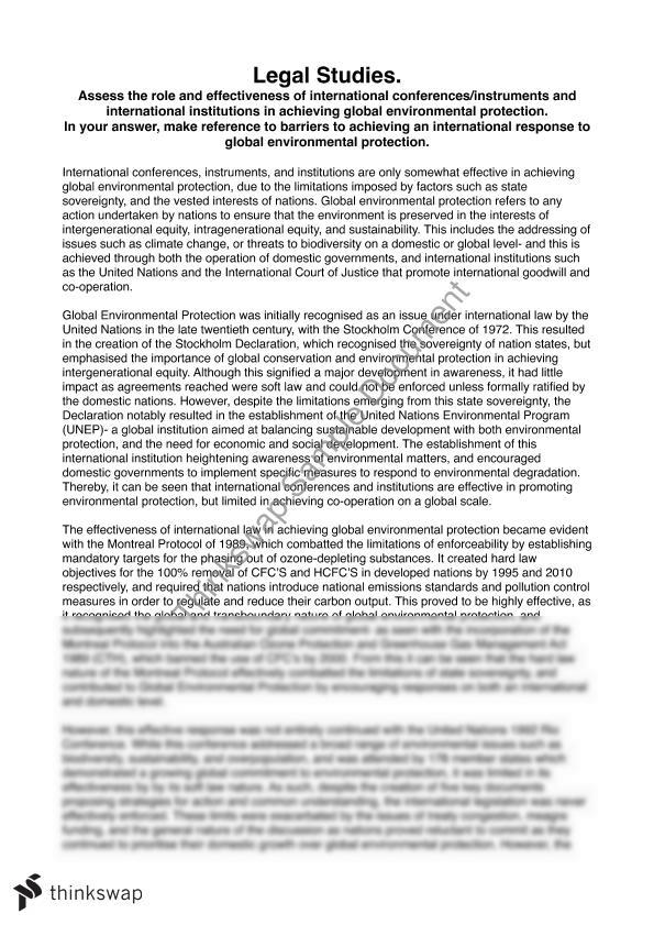globalization on the environment essay As stated by mol in globalization and environmental reform what impacts does globalisation really has on the environment to begin with, this essay will discuss.