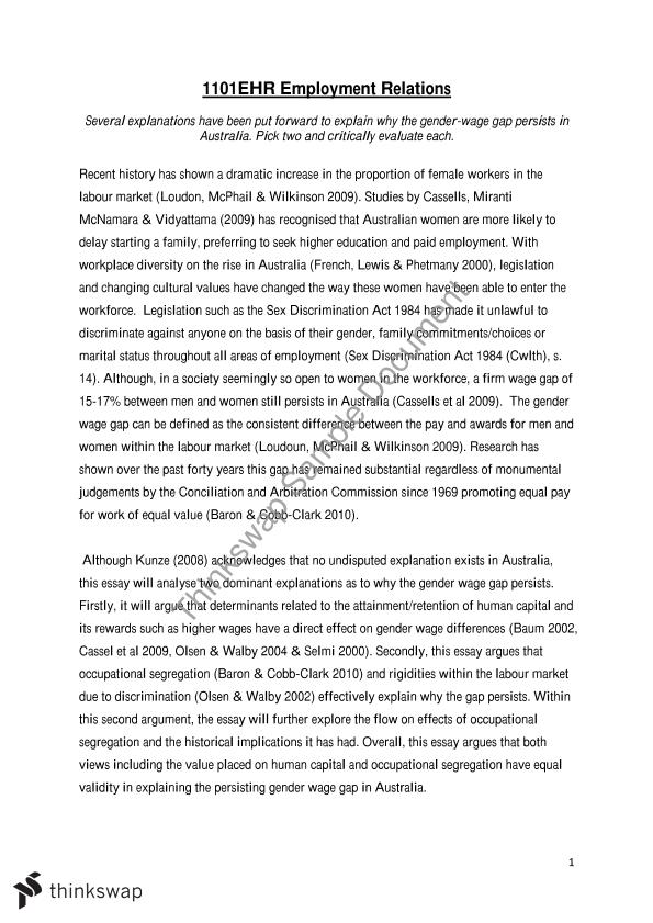 Pay Gap Essay  Essays Written By High School Students also Business Plan Writers In Houston Texas  Computer Science Essay Topics