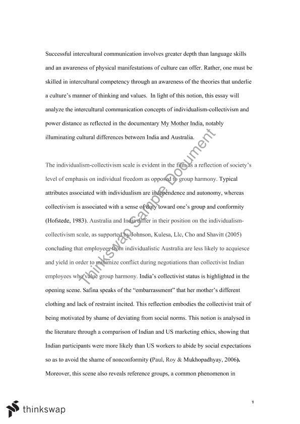 reflective essay cultural identity