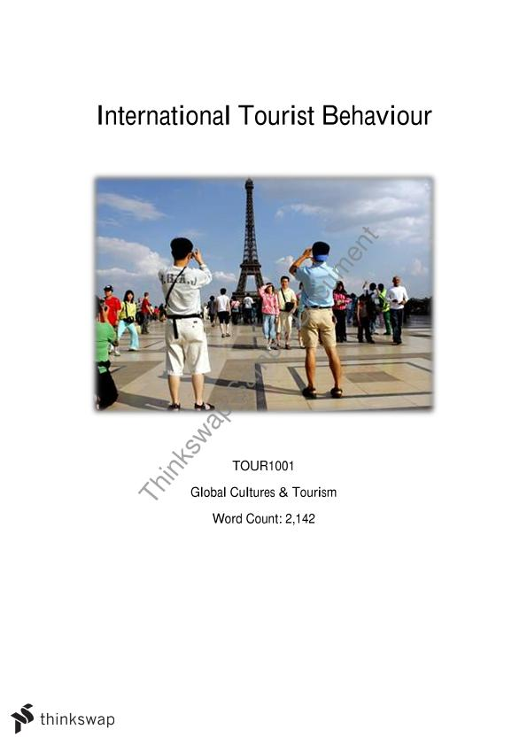 international tourism essays Free essay on tourism in india jasvir essay [-0] if you have money recent surveys have shown that international tourism exert a crucial positive influence on the world civilization origin, which.