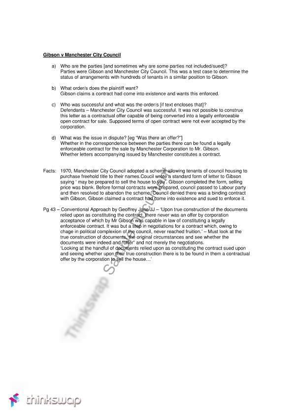 gibson v manchester city council pdf
