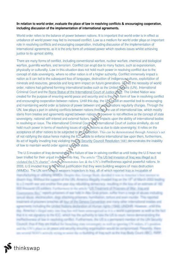 World order essay hsc distribution manager resume objective