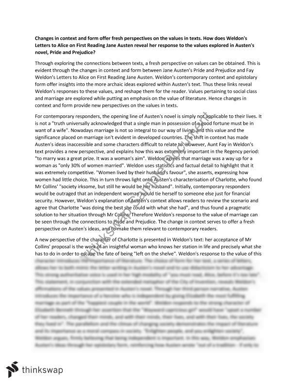 hsc module a essay on pride and prejudice and letters to alice hsc module a essay on pride and prejudice and letters to alice