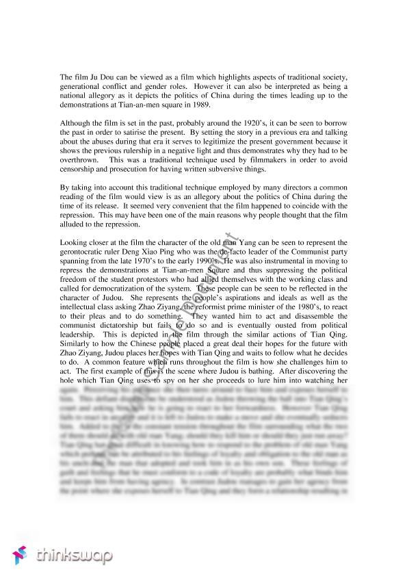 chinese mythology 2 essay Essays 48 education about asia volume 4, number 3 winter 1999  resources  debunks the myth surrounding  intermediary between the two.