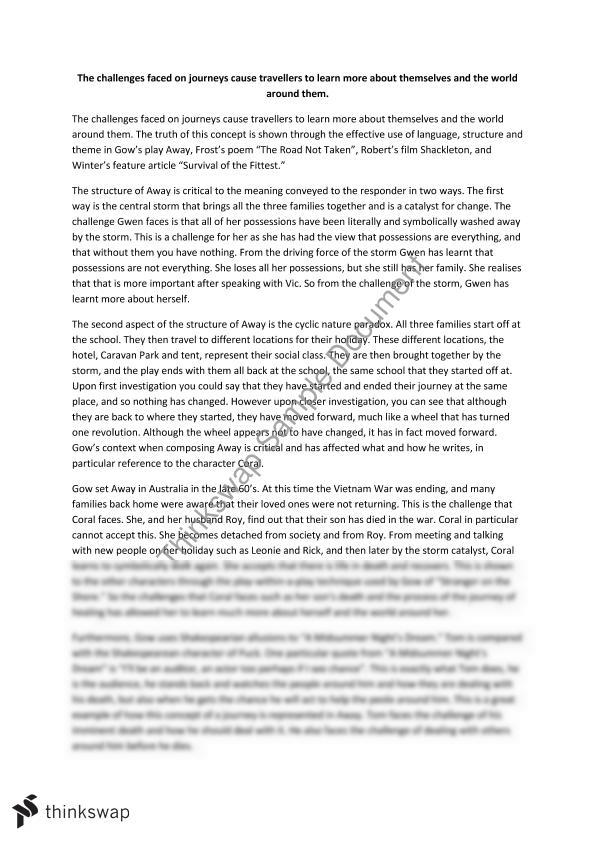 essay on survival of the fittest