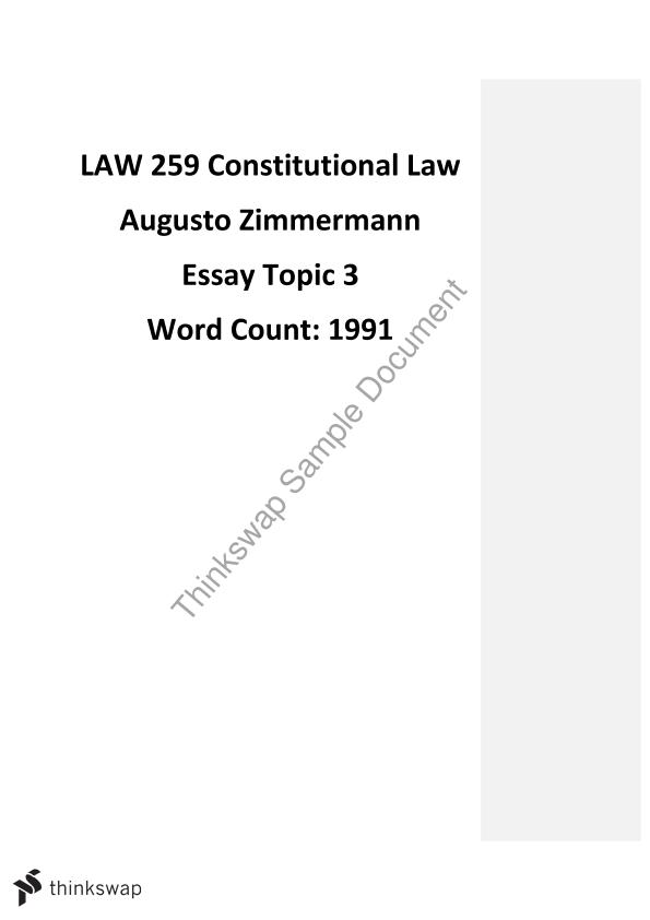 constitutional interpretation essay law constitutional law  constitutional interpretation essay