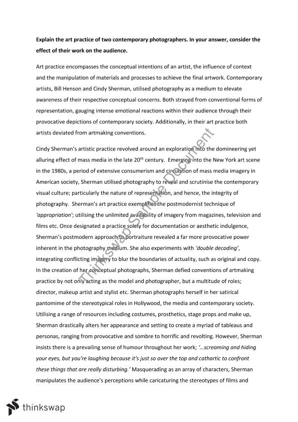 contemporary art thesis The transcendental sublime in contemporary art - nandita mukand - essay - art  - miscellaneous - publish your bachelor's or master's thesis, dissertation, term.